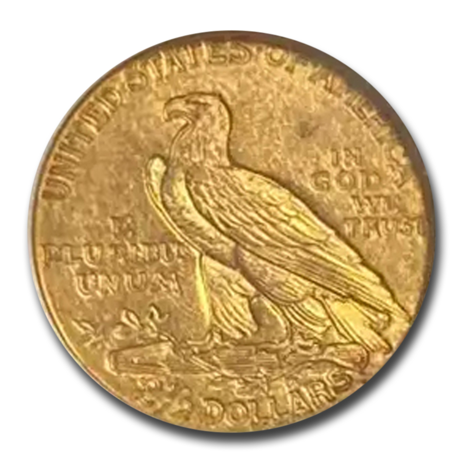 1914 $2.50 Indian Gold Quarter Eagle MS-61 NGC